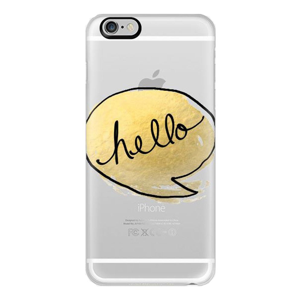 Hamee Hello Designer Cover For iPhone 5 / 5S / Se - Hamee India