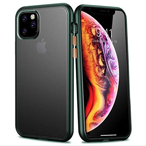 TPU Bumper Back Case for iPhone 11 (Green)