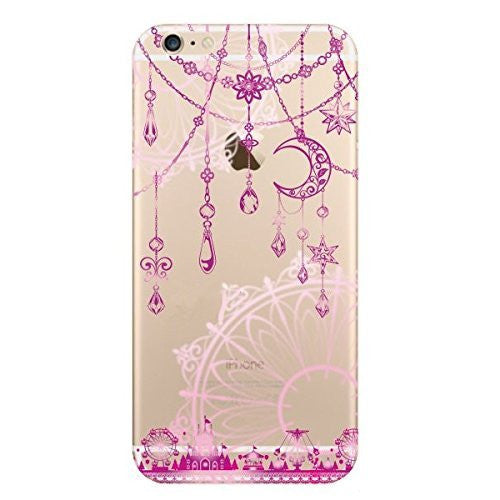 Hamee Ornaments / Pink Designer Cover For Apple iPhone 6 Plus / 6S Plus - Hamee India