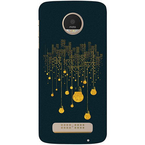 Hamee City Light Pattern Design 3D Printed Hard Back Case Cover for Motorola Moto G5