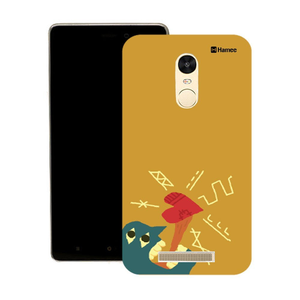 Hamee Tongue With Heart Designer Cover For Motorola Moto X Play - Hamee India
