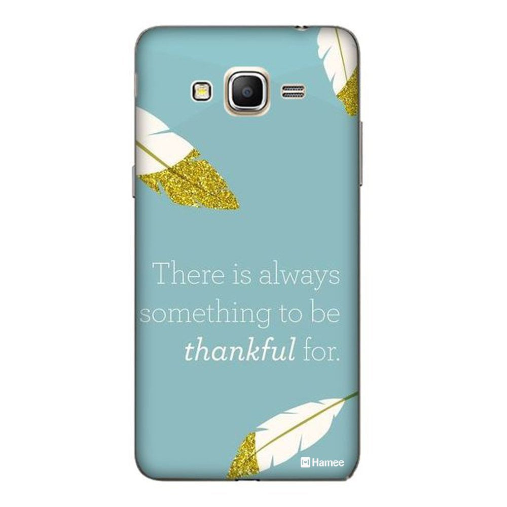Hamee Thankful Quote Blue Designer Cover For Coolpad Note 3 - Hamee India