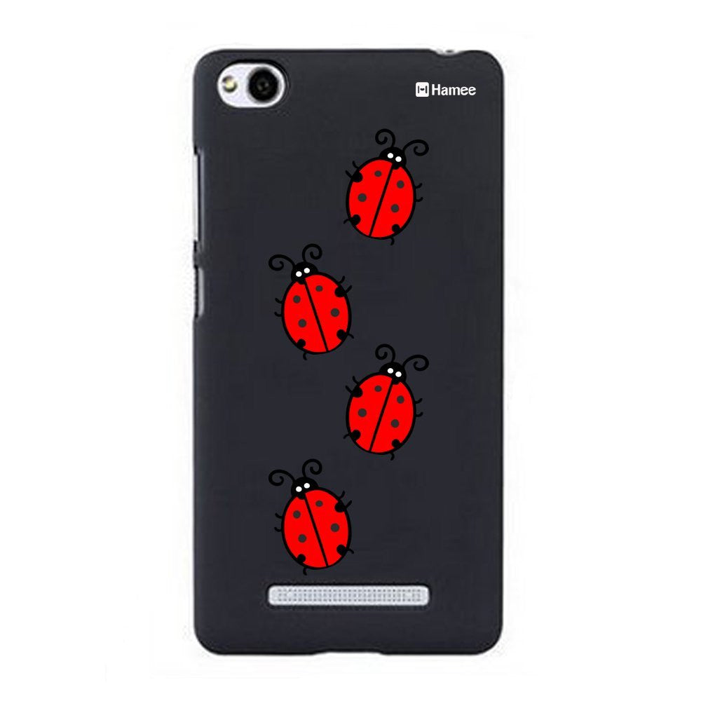 Hamee Ladybirds Designer Cover For Xiaomi Redmi 3 - Hamee India
