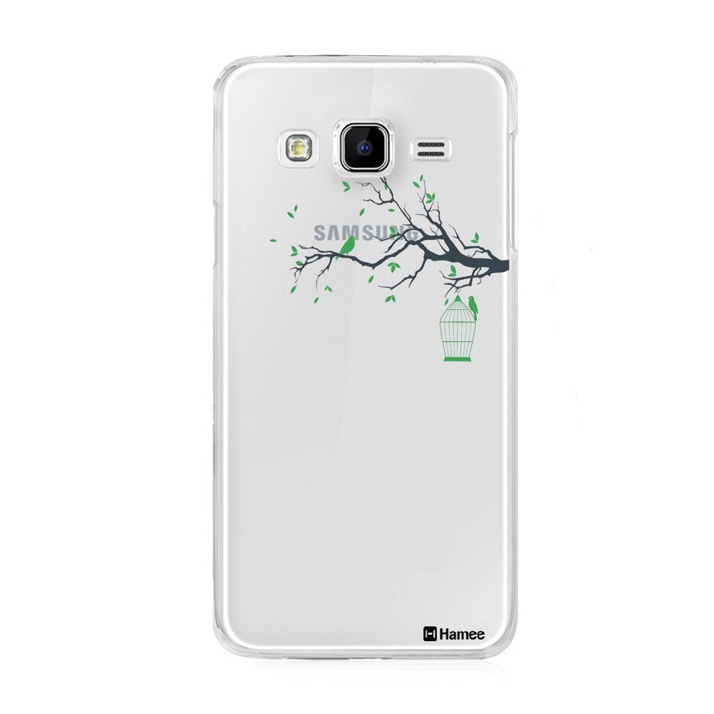 Hamee Bird Cage Designer Cover For Samsung Galaxy J3 - Hamee India