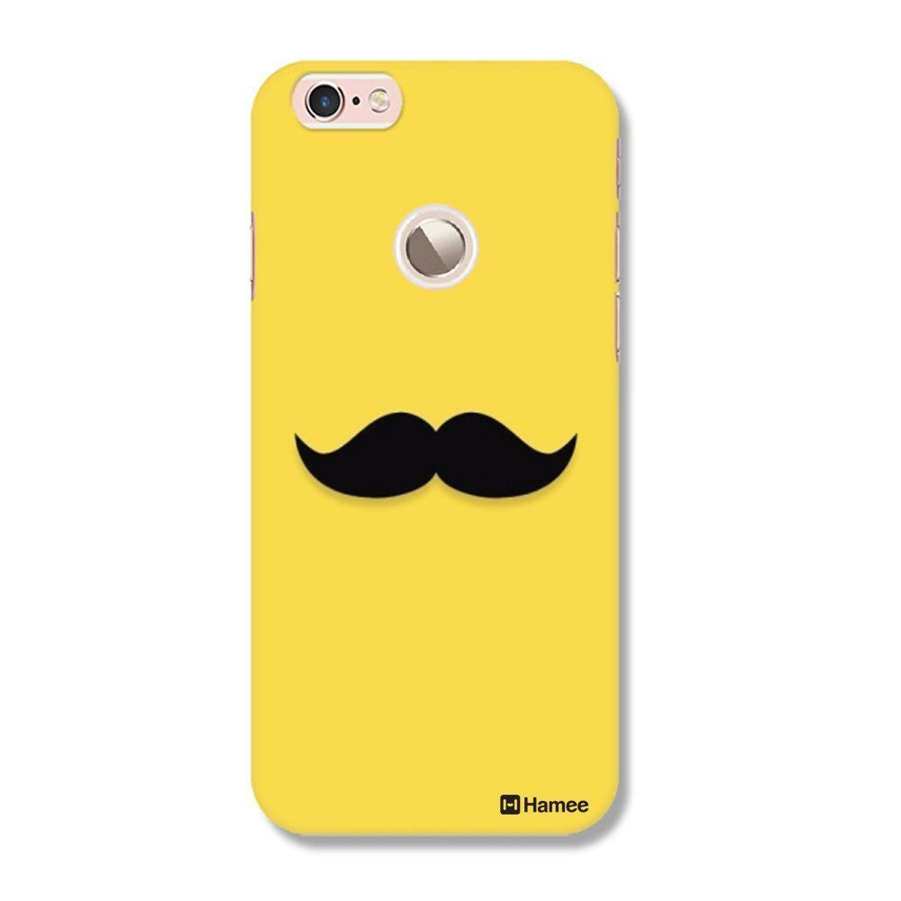Hamee Yellow Moustache Moochie Customized Cover for Letv Le 1S-Hamee India