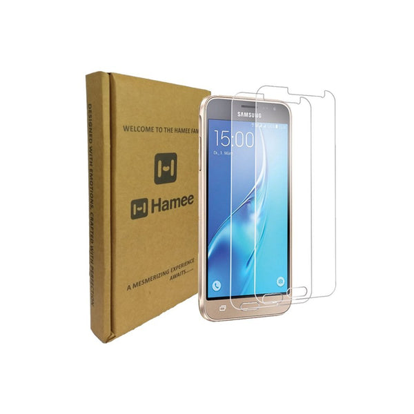 Hamee 9H Scratch Resistant Screen Guard for Samsung Galaxy J7 (2016) (Set of 2)