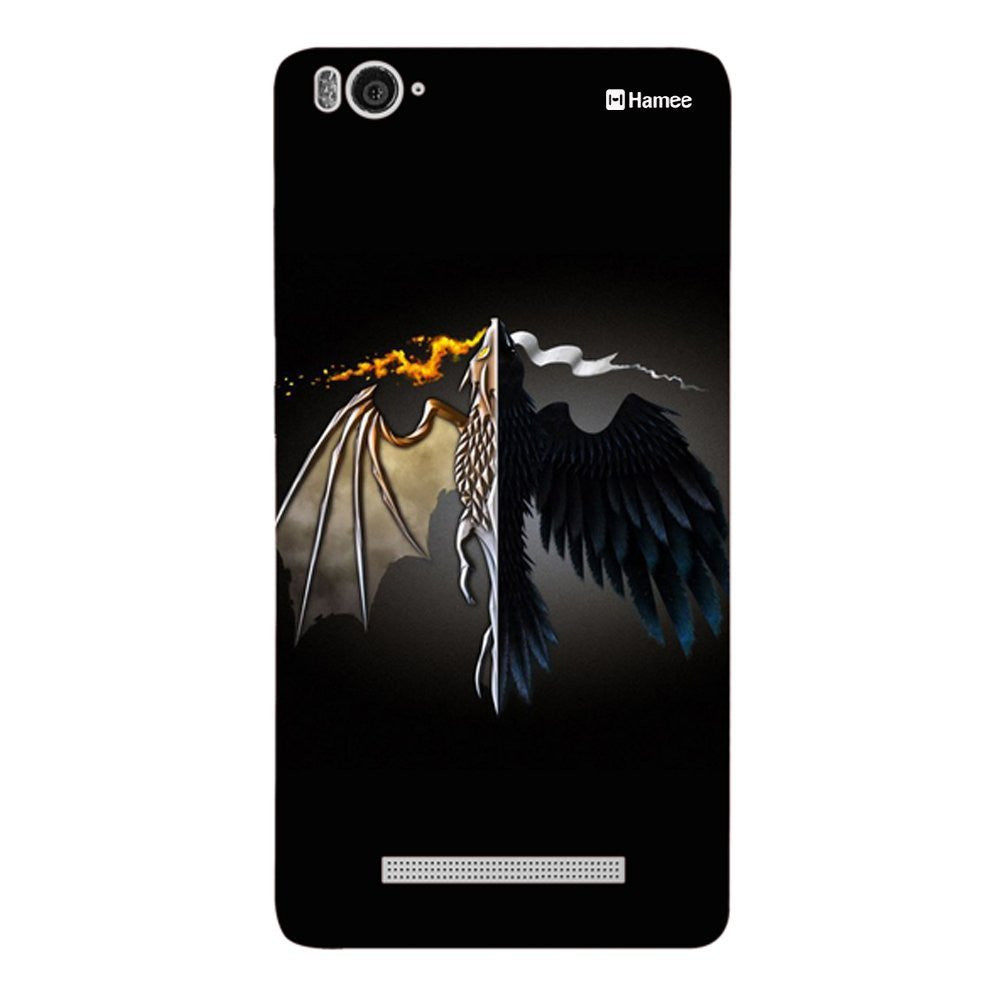 Hamee Flying Beast Designer Cover For Xiaomi Redmi 3-Hamee India