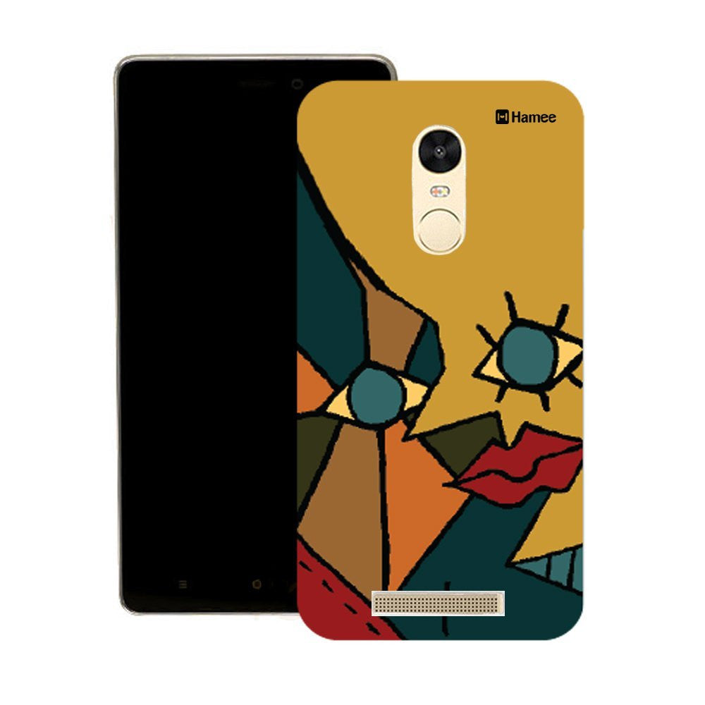 Hamee Colourful Face Designer Cover For Motorola Moto G3 - Hamee India