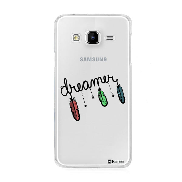 Hamee Black Dreamer Designer Cover For Samsung Galaxy J7 - Hamee India