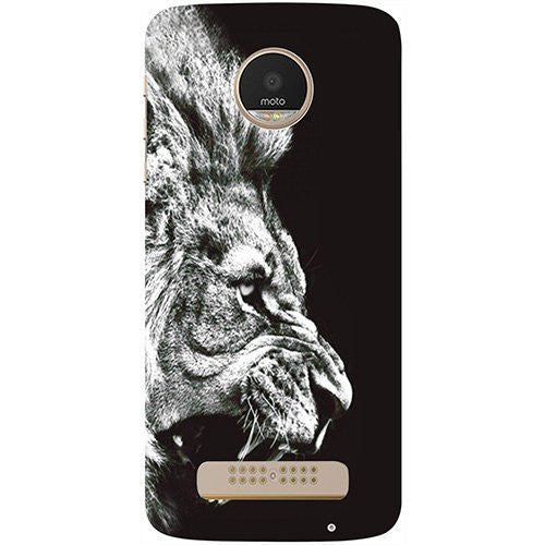 Hamee Lion Design 3D Printed Hard Back Case Cover for Motorola Moto G5