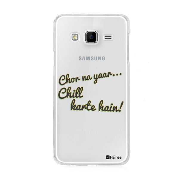 Hamee Chill Designer Cover For Samsung Galaxy J3 - Hamee India