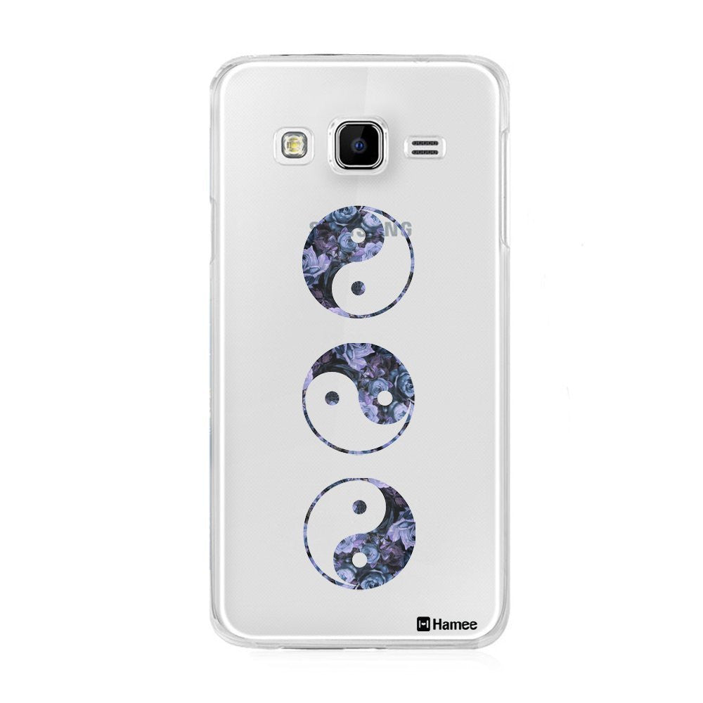 Hamee Yin Yang Designer Cover For Samsung Galaxy J7 - Hamee India