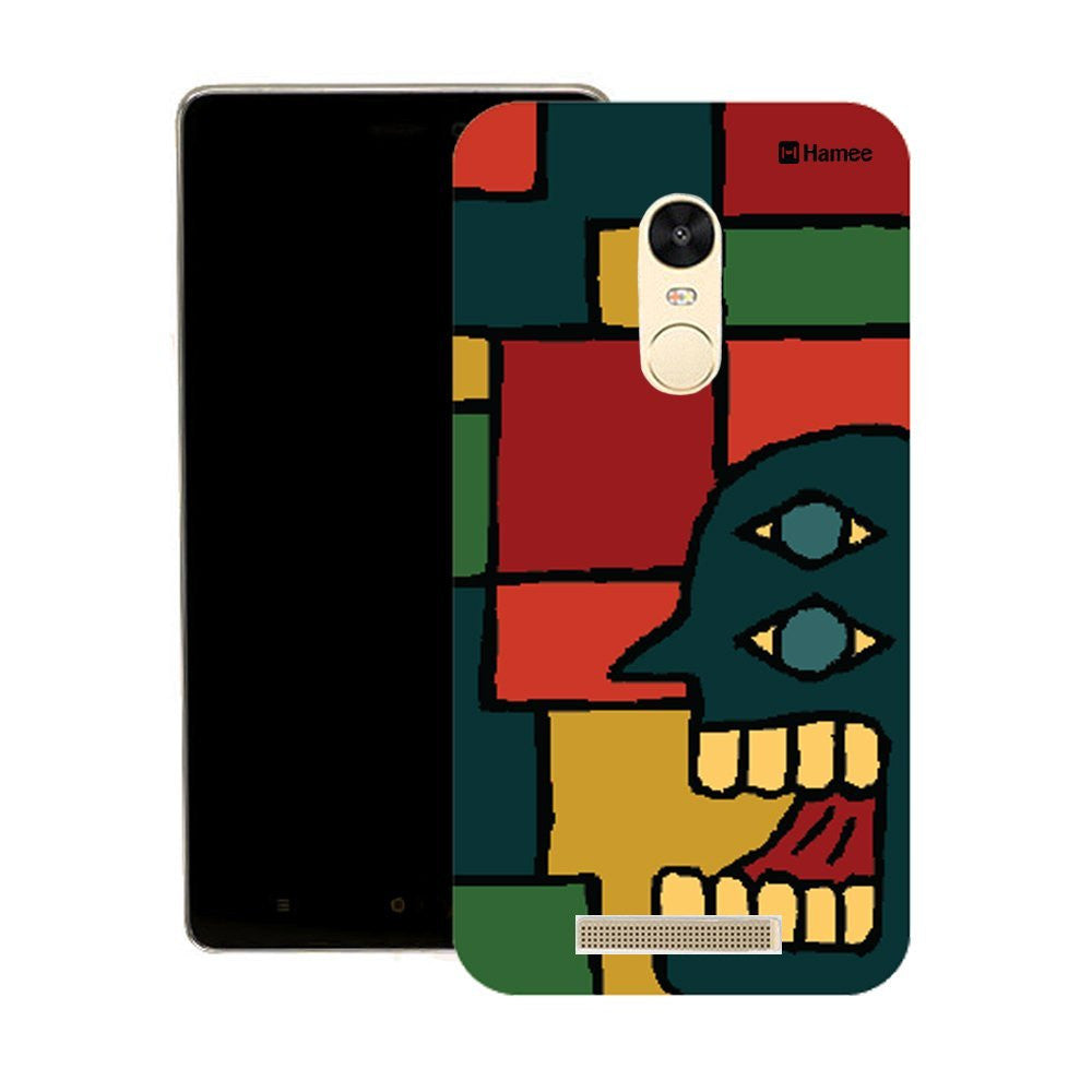 Hamee Blue Face Man Multicolour Designer Cover For Motorola Moto X Play - Hamee India