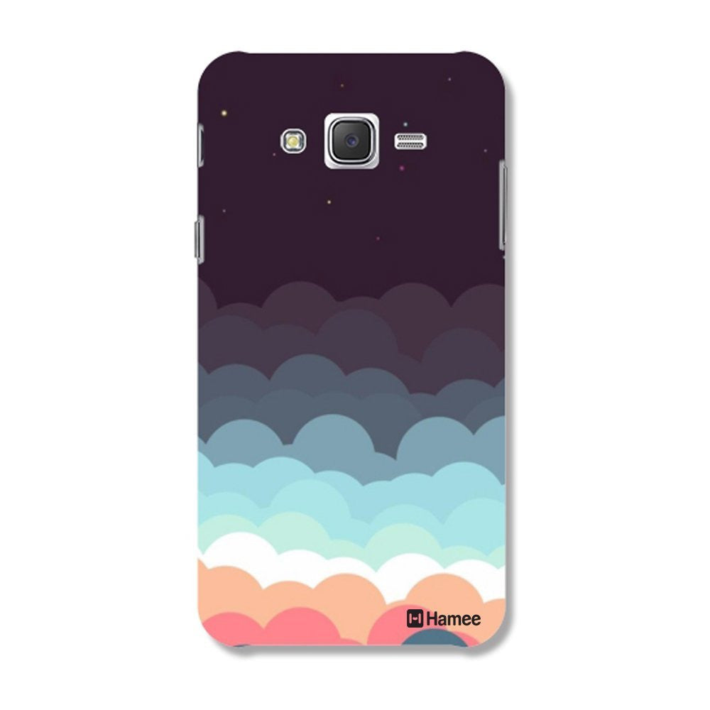 Hamee Cloud Layers Designer Cover For Samsung Galaxy J7 - Hamee India