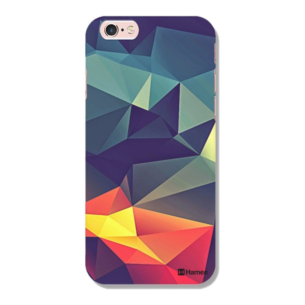 Hamee Abstract / Multicolour Designer Cover For Apple iPhone 6 / 6S-Hamee India