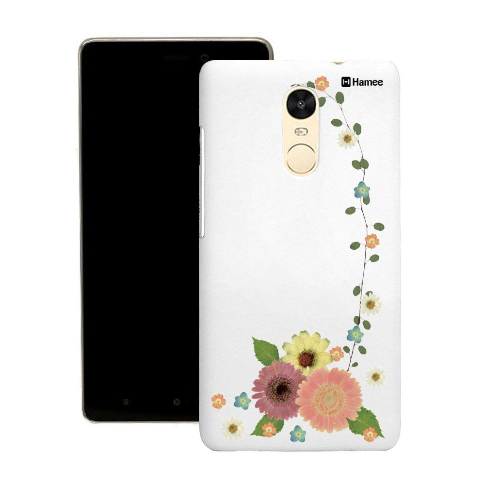 Hamee Flower Vine Customized Cover for Motorola Moto G4 Plus-Hamee India