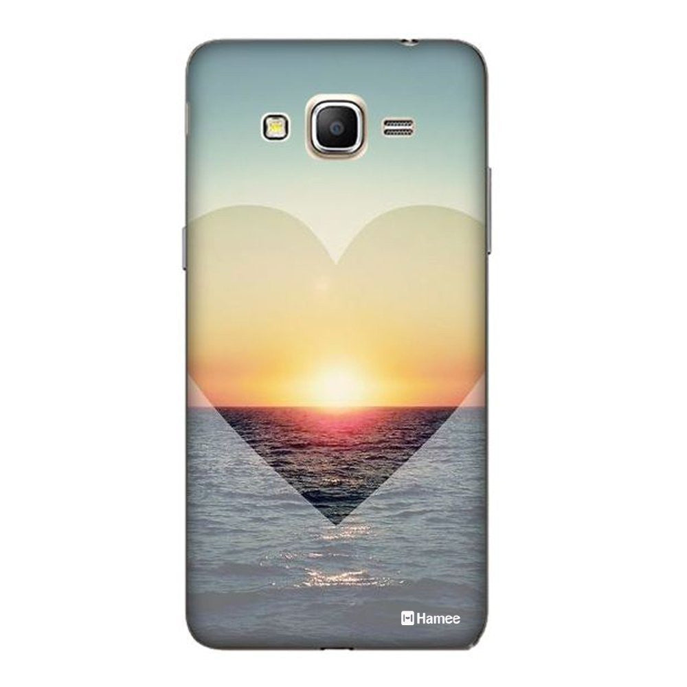 Hamee Heart Ocean Designer Cover For Samsung Galaxy J3 - Hamee India