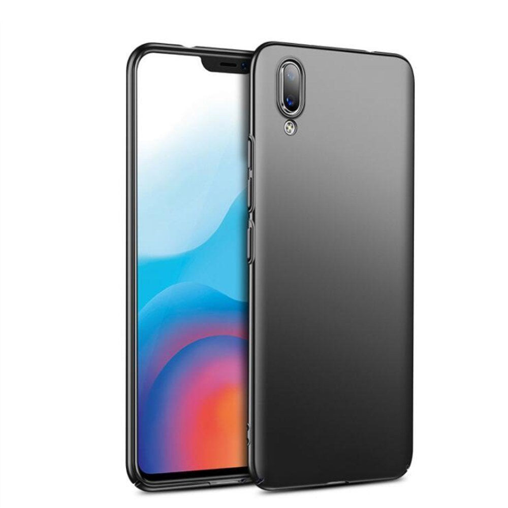 BLACK SOFT TPU CASE FOR VIVO X21-Hamee India