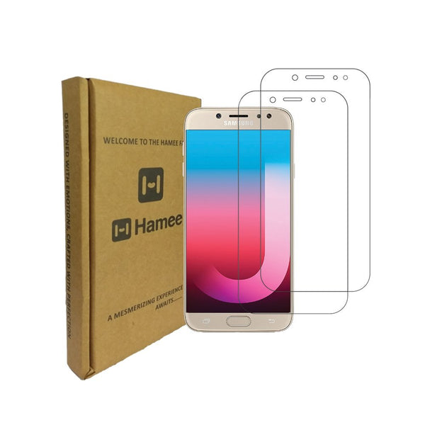 Hamee 9H Scratch Resistant Screen Guard for Samsung Galaxy J7 Pro (Set of 2)