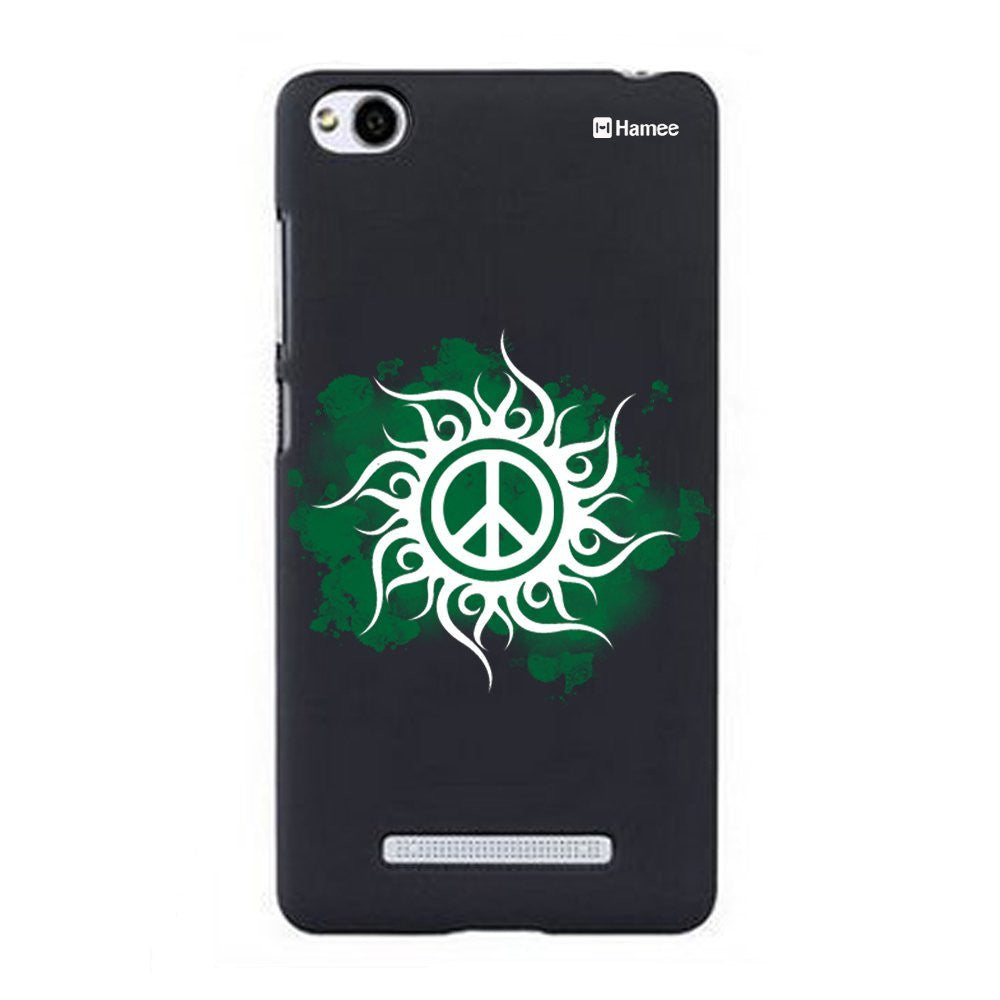 Hamee Green Peace Designer Cover For Xiaomi Redmi 3 - Hamee India