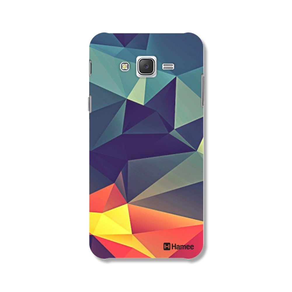 Hamee Abstract / Multicolour Designer Cover For Samsung Galaxy J7-Hamee India