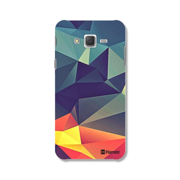 Hamee Abstract / Multicolour Designer Cover For Samsung Galaxy J7 - Hamee India