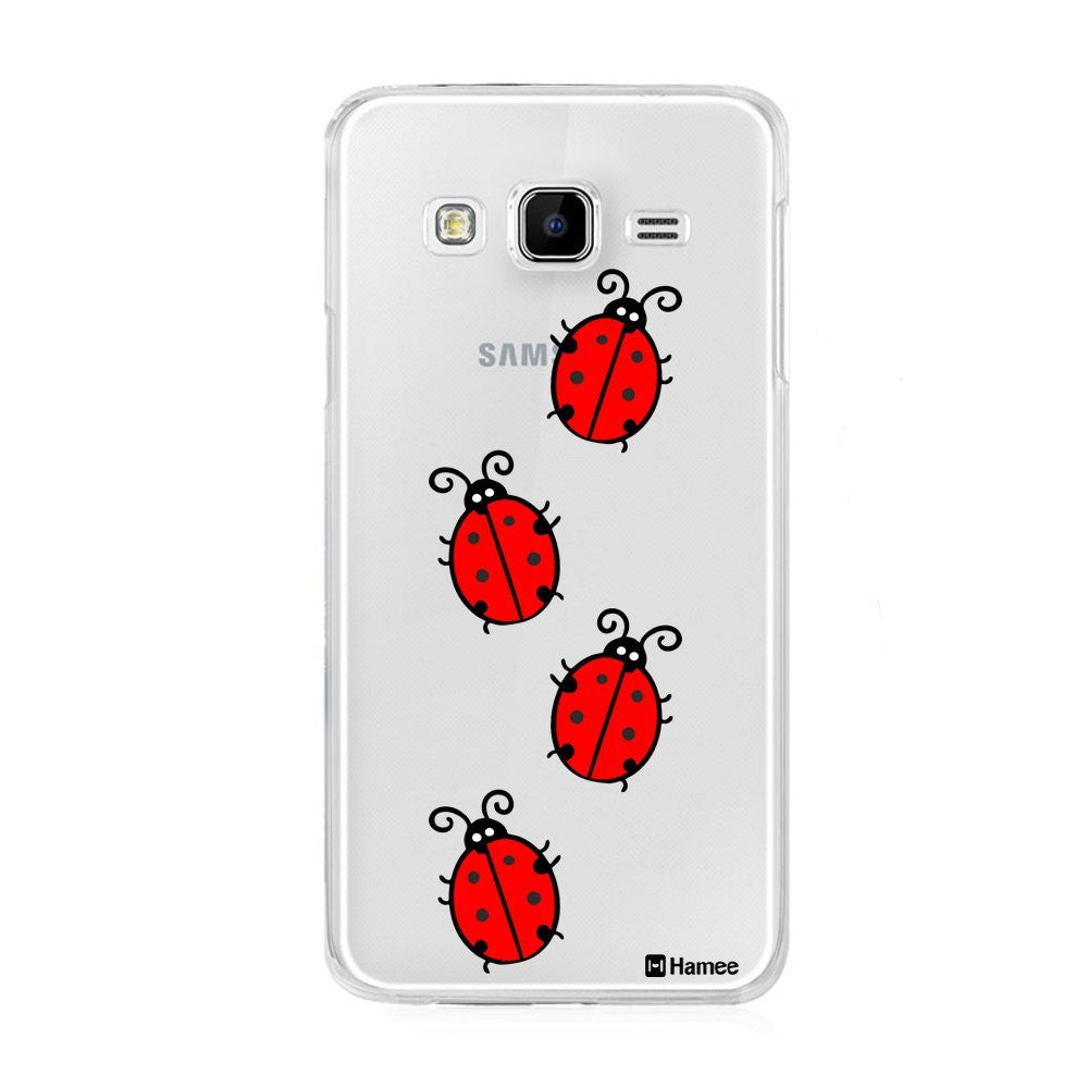 Hamee Lady Birds Designer Cover For Samsung Galaxy J7 - Hamee India