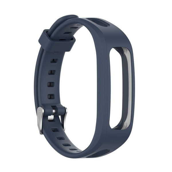 Honor Band 4 (Running Version) TPU Wrist Strap - Dark Blue
