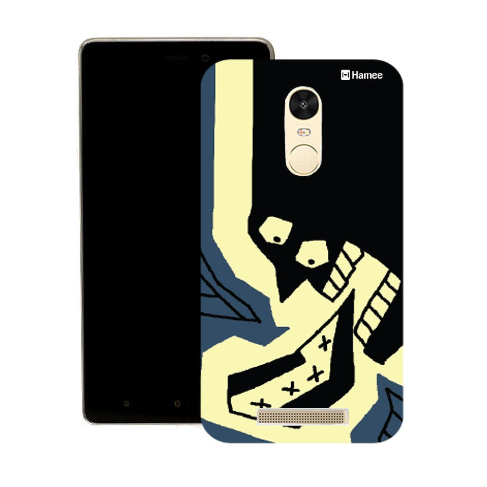Hamee Black Shouting Face Customized Cover for Motorola Moto G4 Plus-Hamee India