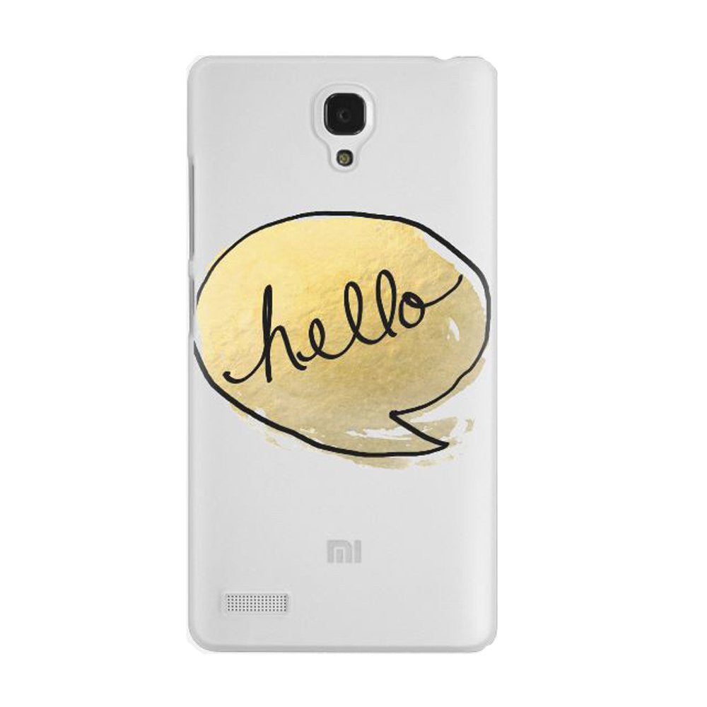 Hamee Hello Designer Cover For Xiaomi Redmi Note-Hamee India