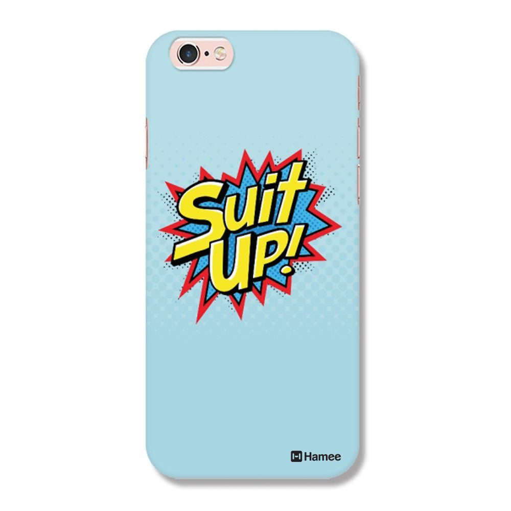Hamee Suit Up / Blue Designer Cover For Apple iPhone 6 Plus / 6S Plus-Hamee India