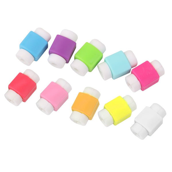 Cable Protector Cover (6 pcs - Random Color)-Hamee India