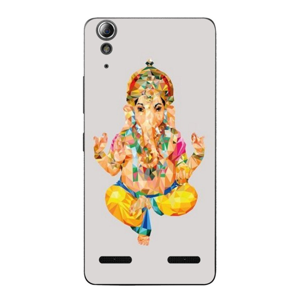 Hamee Crystal God / Multicolour Designer Cover For Lenovo A6000 / A 6000 Plus - Hamee India