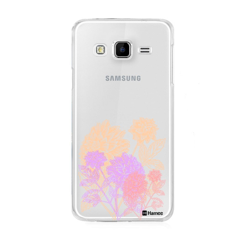 Hamee Pastel Flowers Designer Cover For Samsung Galaxy J3 - Hamee India