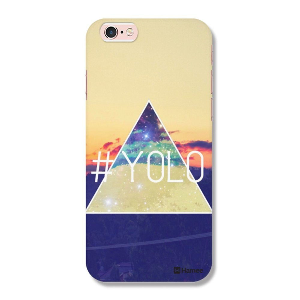 Hamee Yolo / Multicolour Designer Cover For Apple iPhone 6 / 6S-Hamee India