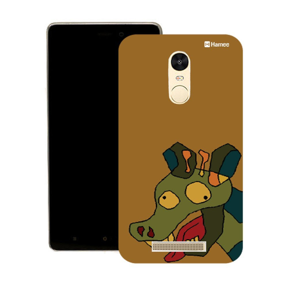 Hamee Peeping Cow Designer Cover For Motorola Moto G3 - Hamee India