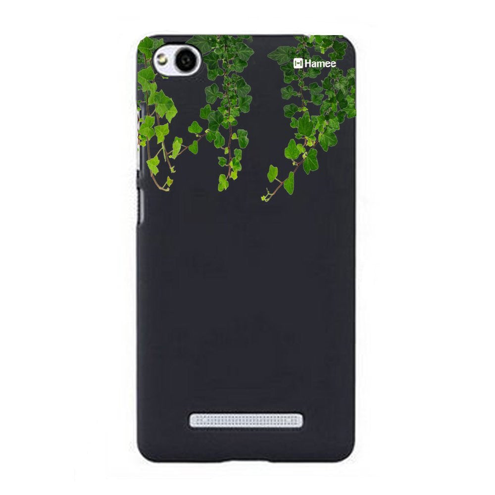 Hamee Green Top Creepers Designer Cover For Xiaomi Redmi 3-Hamee India