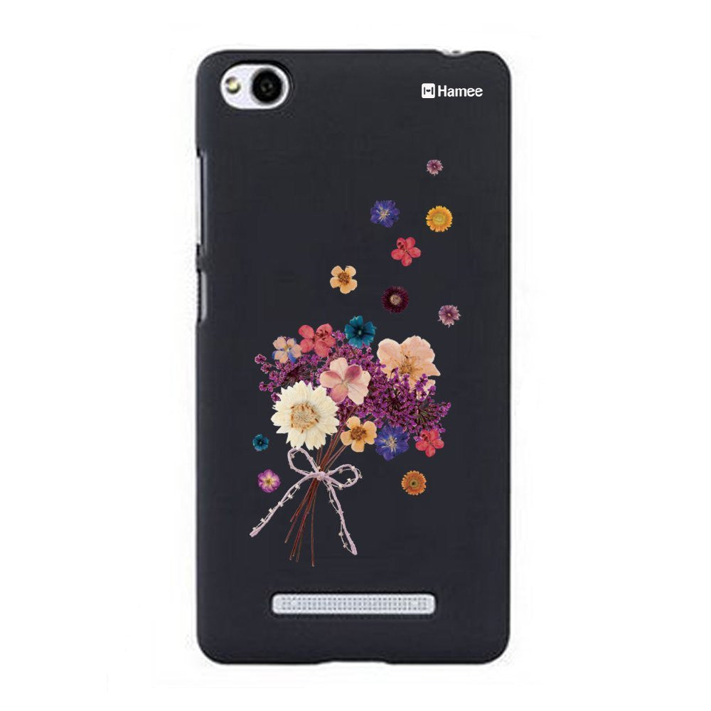 Hamee Flower Bunch Designer Cover For Xiaomi Redmi 3-Hamee India