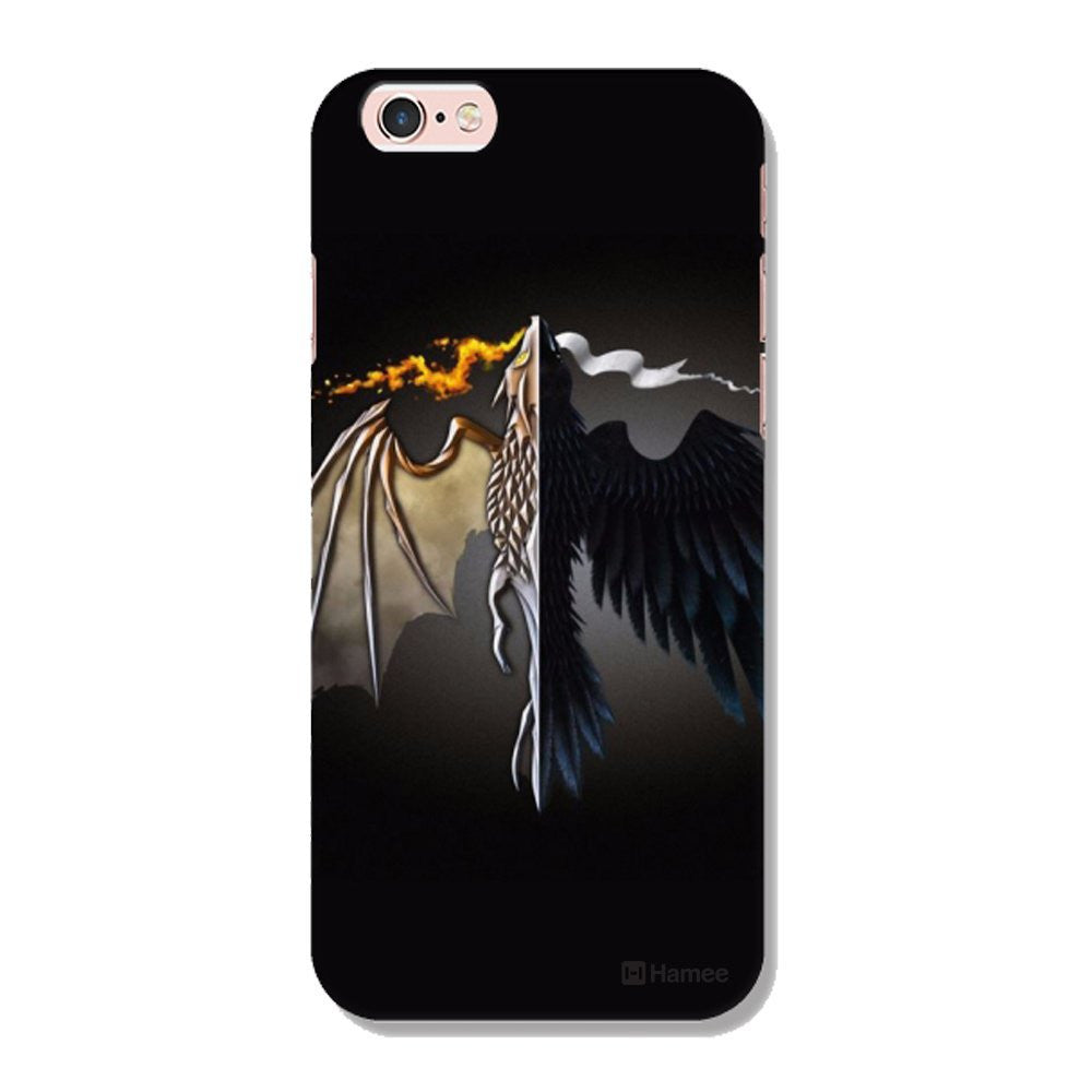 Hamee Flying Beast / Black Designer Cover For Apple iPhone 6 Plus / 6S Plus-Hamee India