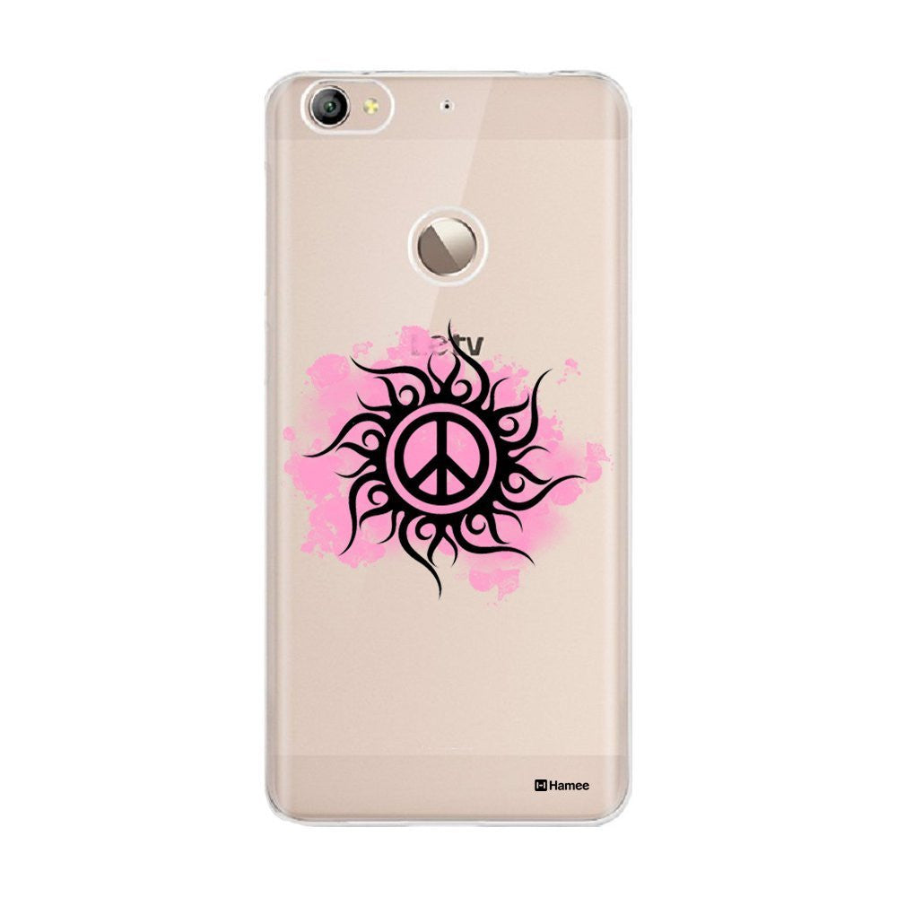 Hamee Pink Peace Customized Cover for Letv Le 1S-Hamee India