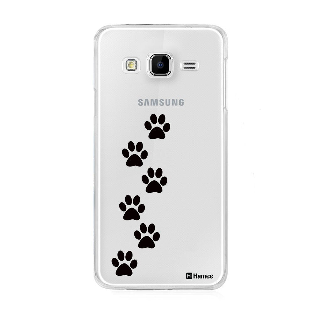 Hamee Paw Prints Designer Cover For Samsung Galaxy On5 - Hamee India