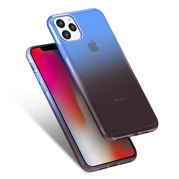 Gradient TPU Case for iPhone 11 - Black & Blue