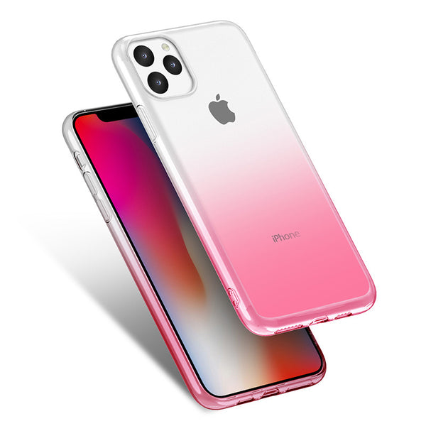 Gradient TPU Case for iPhone 11 - Red