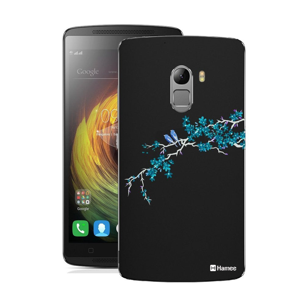 Hamee Blue Bird Branch Designer Cover For Lenovo K4 Note - Hamee India