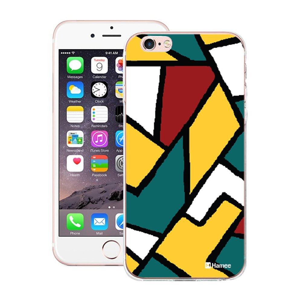 Hamee Big Print Abstract Designer Cover For iPhone 5 / 5S / Se-Hamee India