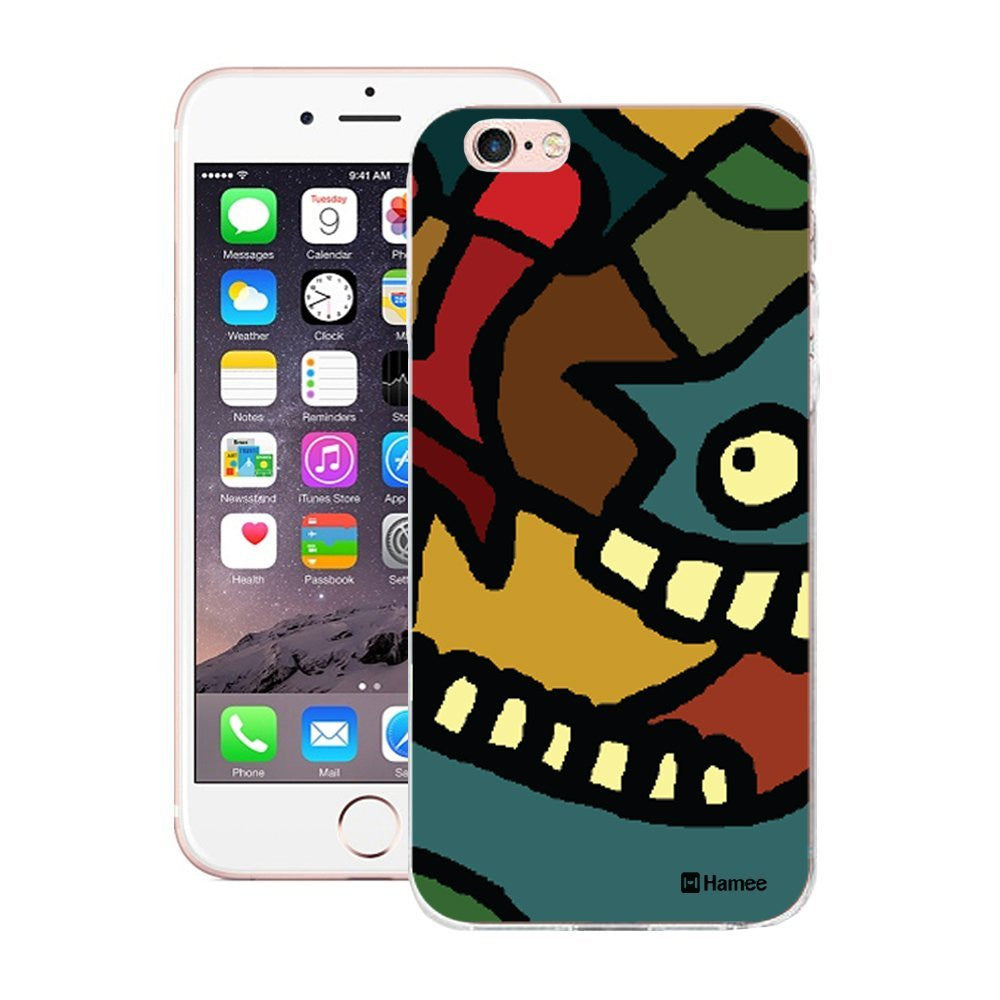 Hamee Grinning Face Designer Cover For Apple iPhone 6 / 6S - Hamee India