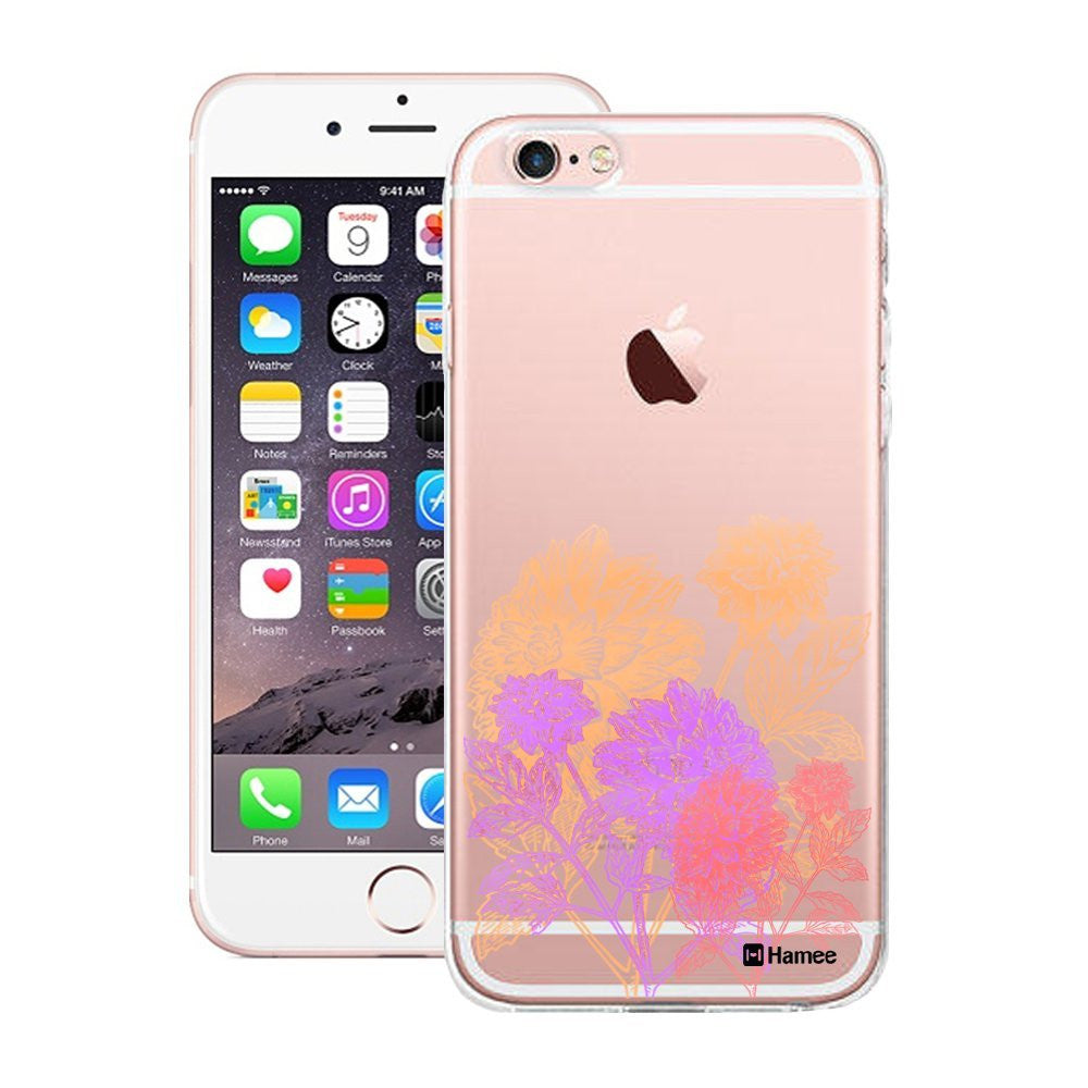 Hamee Pastel Flowers Designer Cover For Apple iPhone 6 Plus / 6S Plus - Hamee India