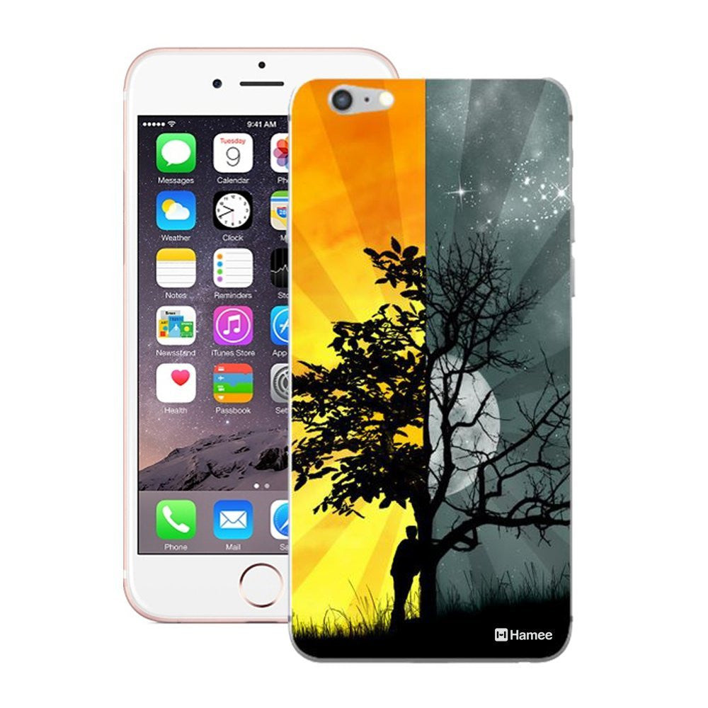 Hamee Day And Night Designer Cover For iPhone 5 / 5S / Se-Hamee India