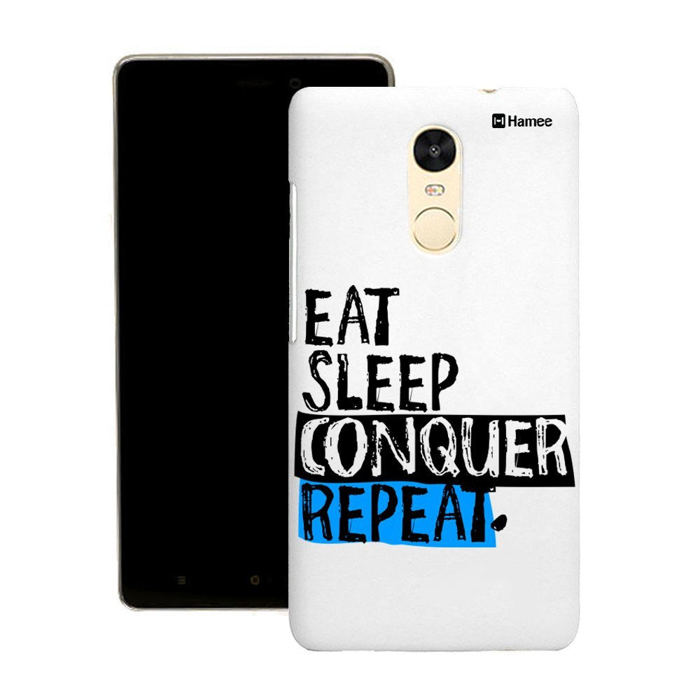 Hamee Eat Sleep Customized Cover for Motorola Moto G4 Plus-Hamee India