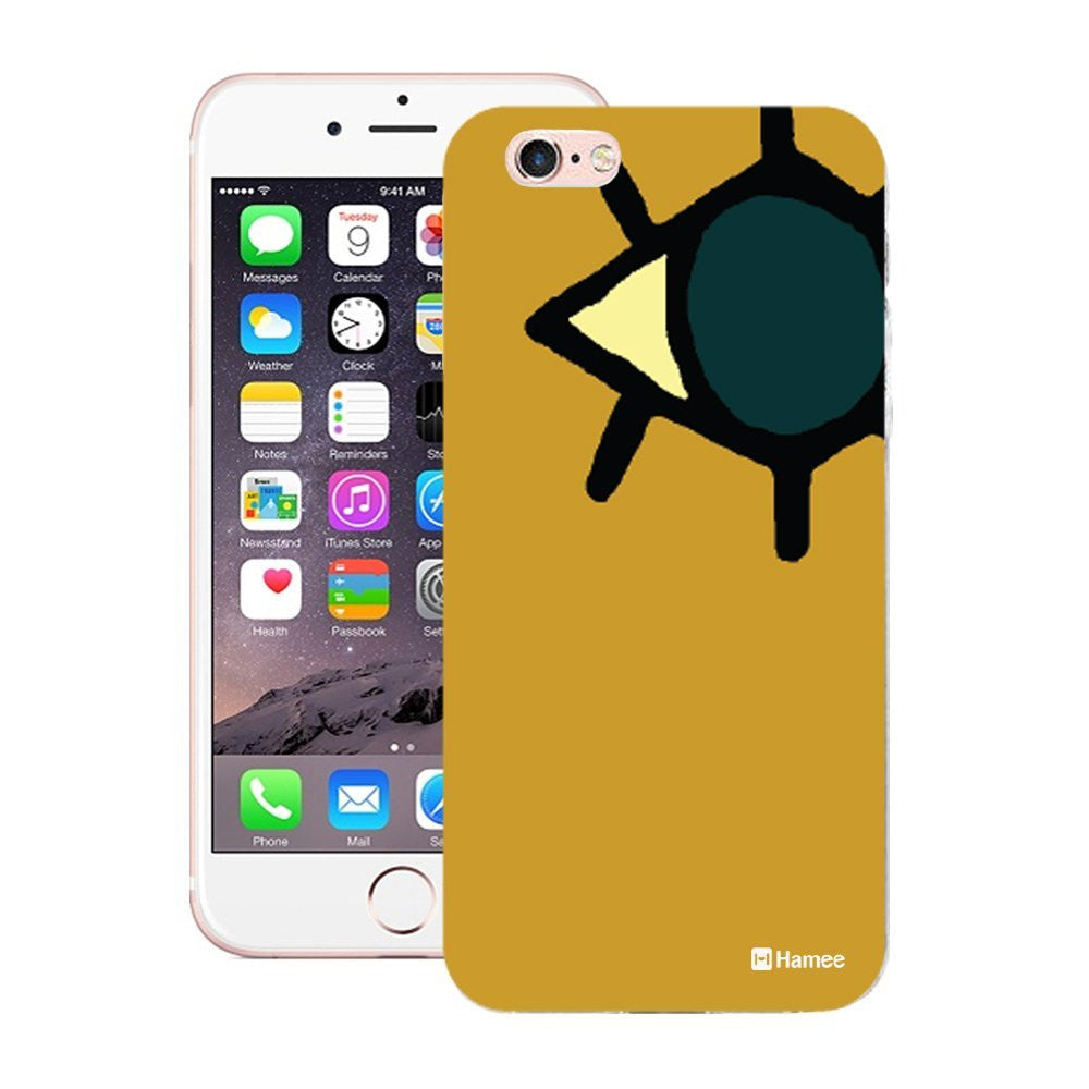 Hamee Mustard Eye Designer Cover For Apple iPhone 6 Plus / 6S Plus-Hamee India